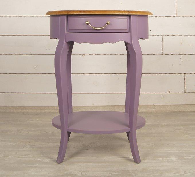 """Овальный столик """"Leontina lavanda"""""""