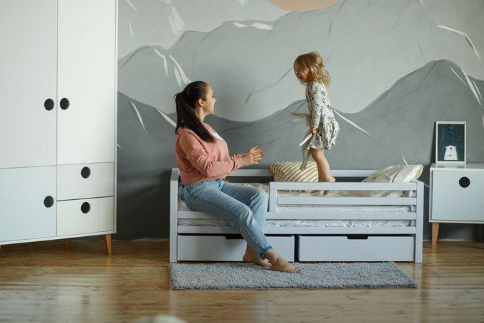Детская кровать Scandy из бука