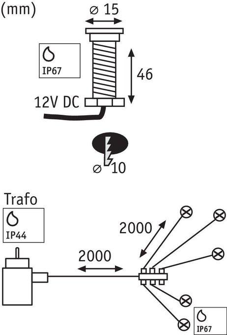 Ландшафтный светодиодный светильник Special Boden MicroPen