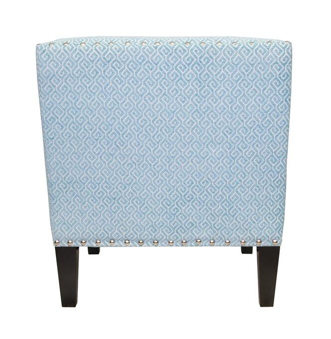 Кресло Mart blue с обивкой из велюра