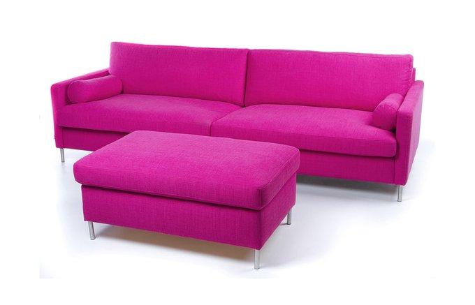 Прямой диван Colorado розового цвета