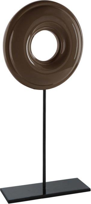 Декор Hollow коричневого цвета