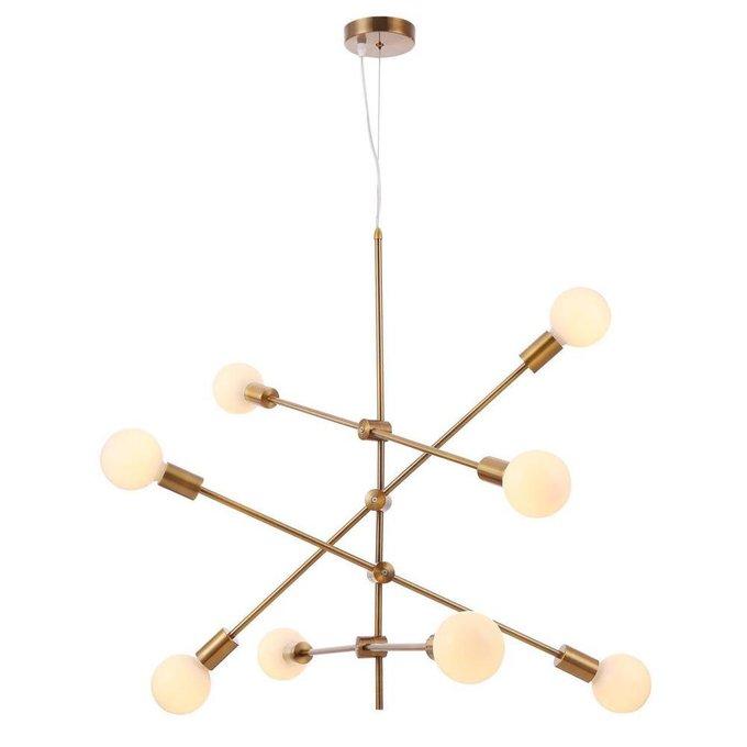 Подвесной светильник Octavia цвета латунь