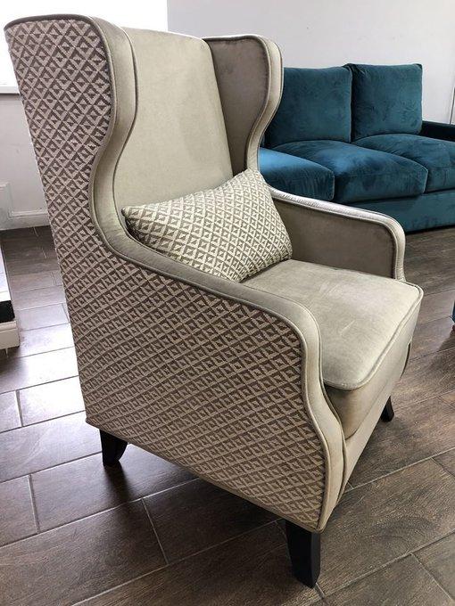 Каминное кресло Джеймс премиум