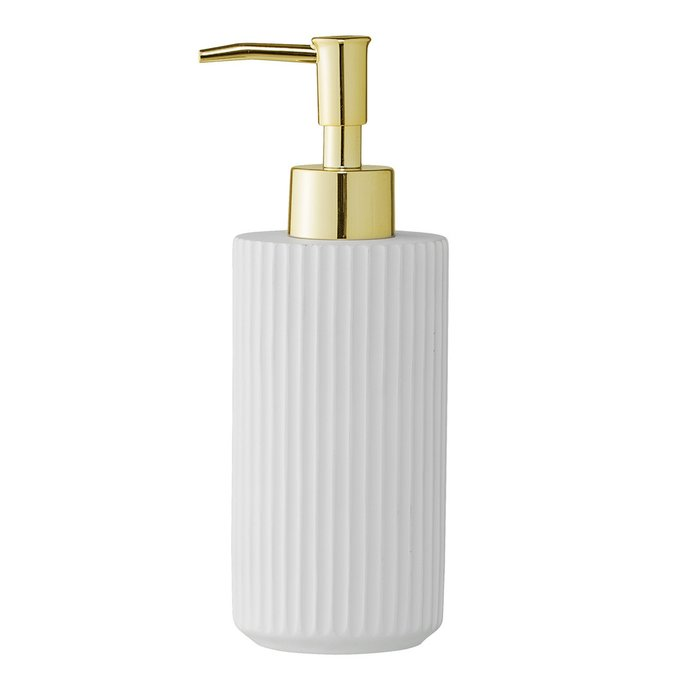 Диспенсер для мыла Costela White белого цвета