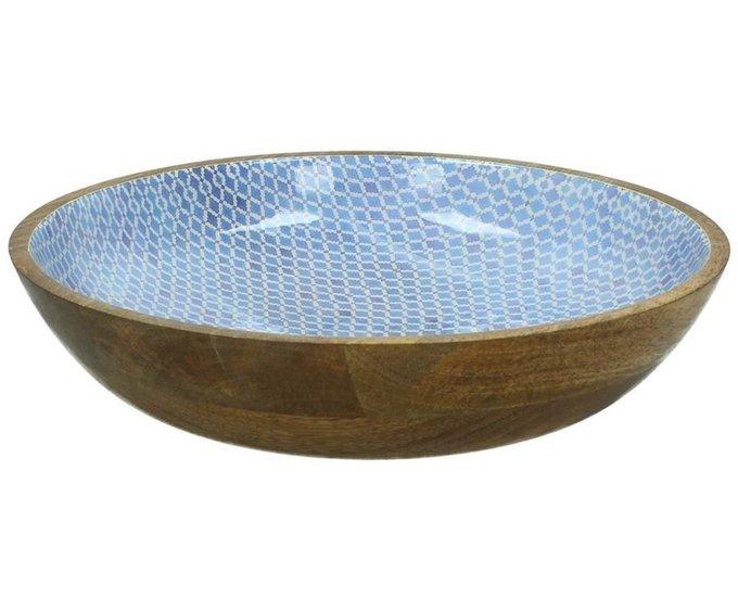 Чаша Wood Blue из бамбука