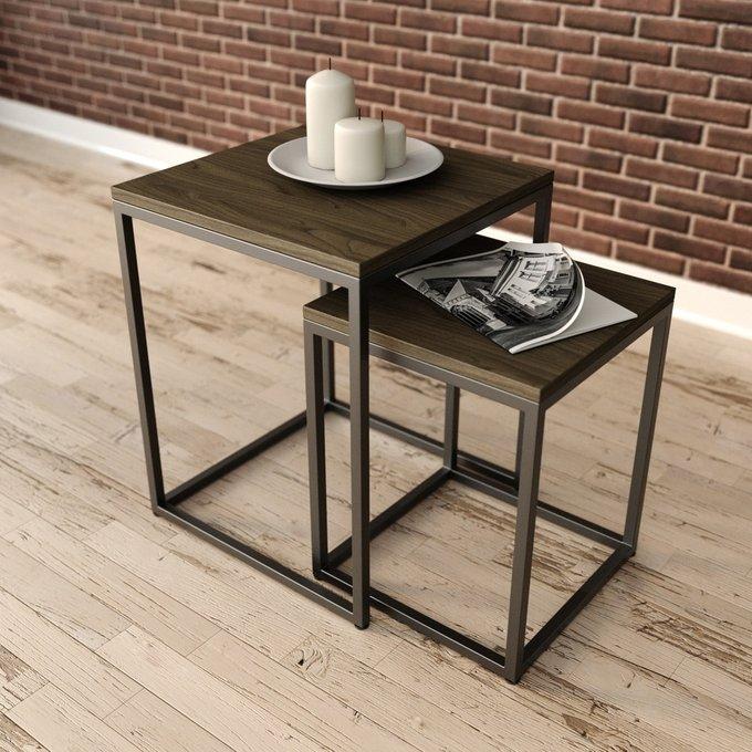Кофейный стол Дерриал серого цвета