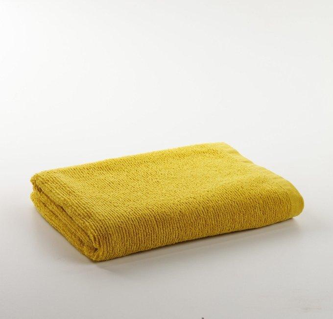 Полотенце Miekki большое горчичного цвета