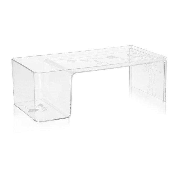 Журнальный столик Usame прозрачного цвета
