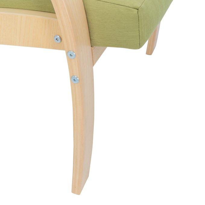 Кресло для отдыха Денди с деревянными подлокотниками