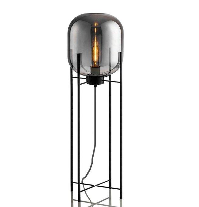 Торшер Globe со стеклянным плафоном