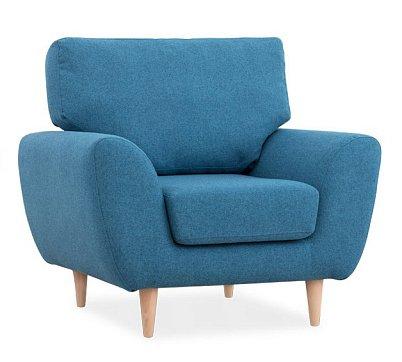 Кресло Алиса голубого цвета