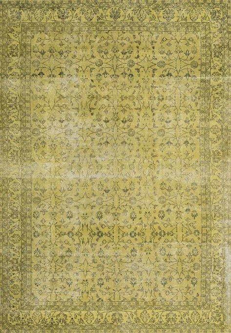 Ковер бежево-зеленого цвета 160x230
