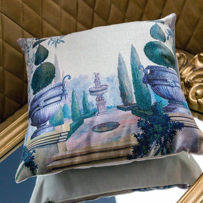 Декоративная подушка Монтесино с чехлом из хлопка