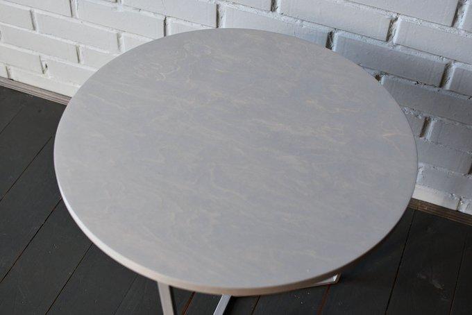 Журнальный стол Porto Gray светло-серого цвета