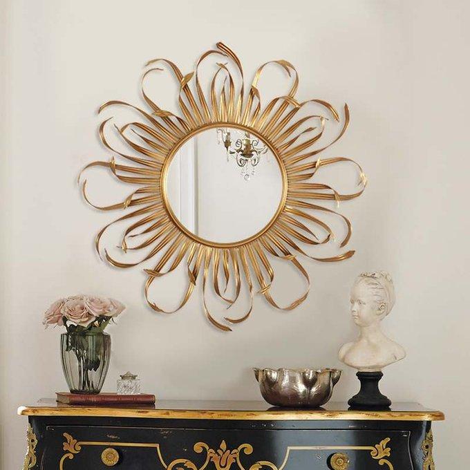 Настенное зеркало Bavaro в металлической раме