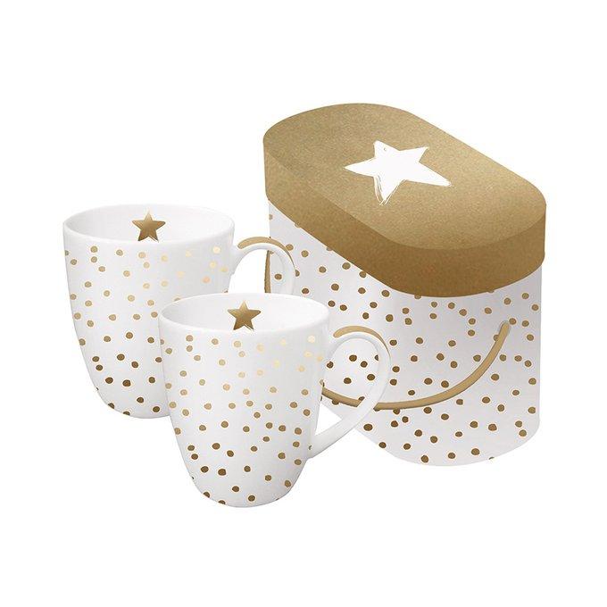 Набор кружек в подарочной упаковке Paperproducts Design the star money