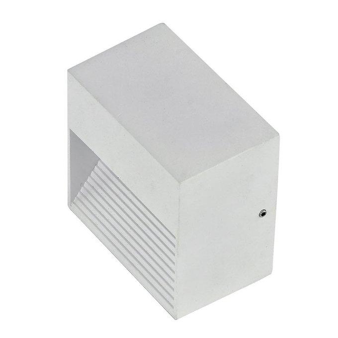 Уличный настенный светильник Ideal Lux Down Bianco