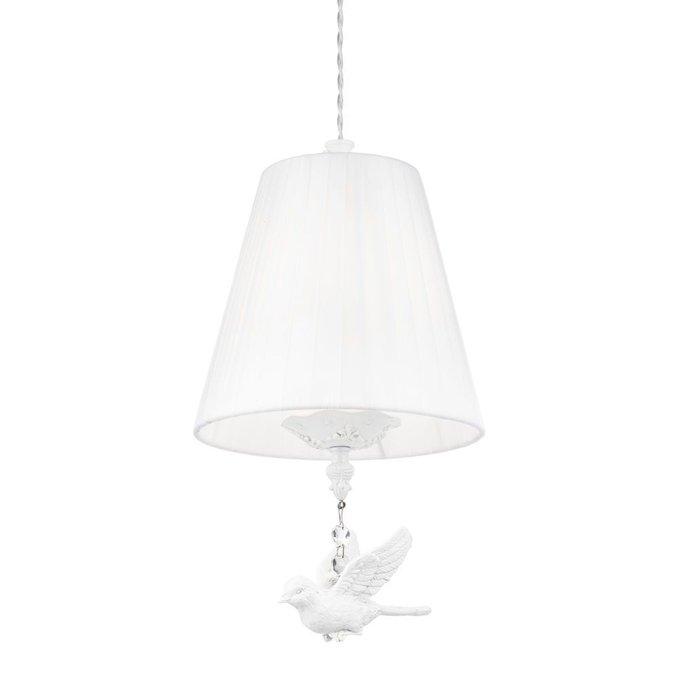 Подвесной светильник Passarinho белого цвета