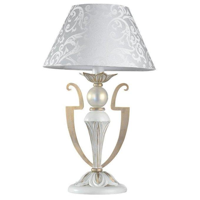 Настольная лампа Monile с белым абажуром