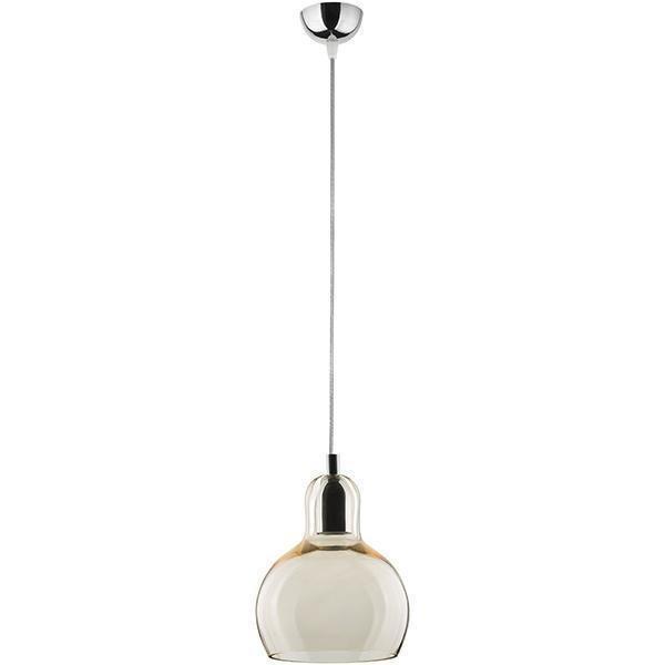 Подвесной светильник Mango с бежевым плафоном