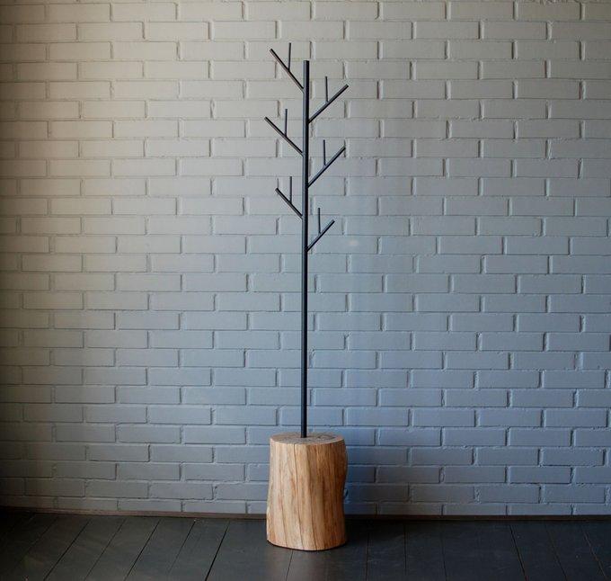 Напольная вешалка Vetvi из металла и дерева
