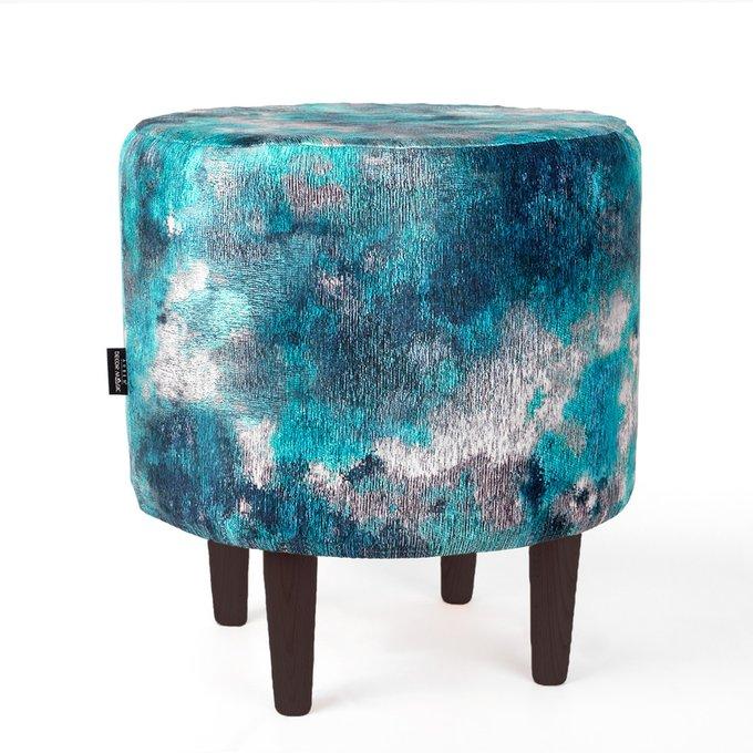 Пуф Спутник Delphi сине-бирюзового цвета