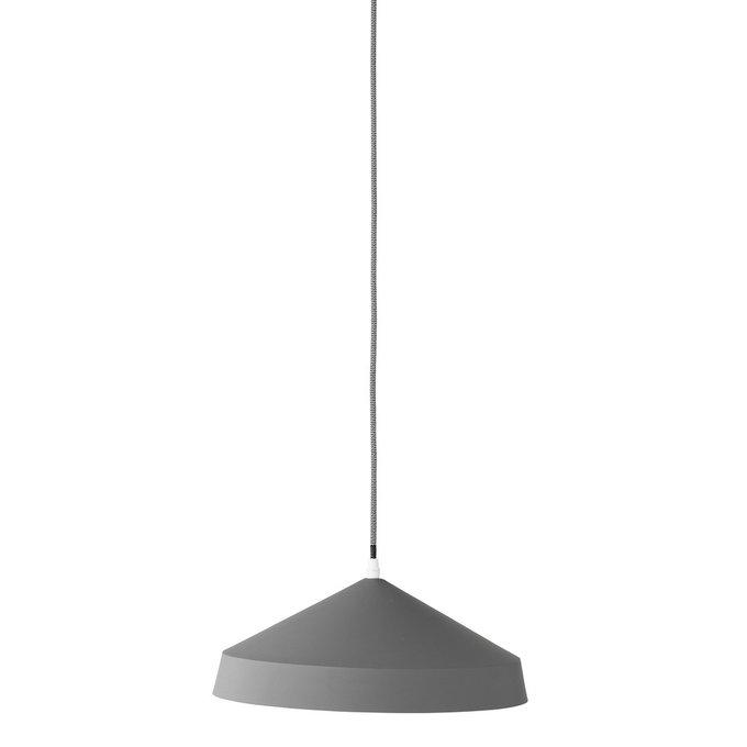 Подвесной светильник Plate серого цвета