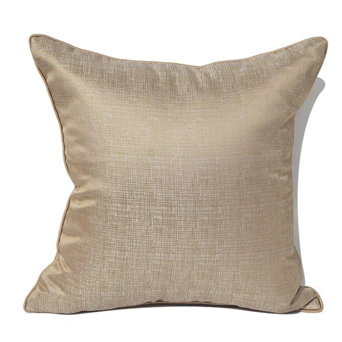 Декоративная подушка Clayton бежево-золотистого цвета
