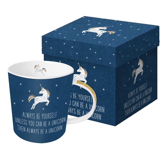Кружка в подарочной упаковке always unicorn 350 мл