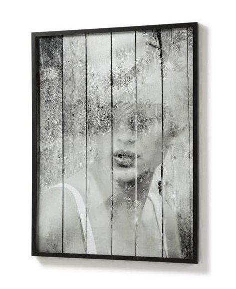 Картина Julia Grup Ariella черная 103х78 см