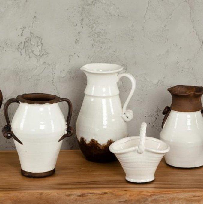 Ваза декоративная Флоренция из керамики