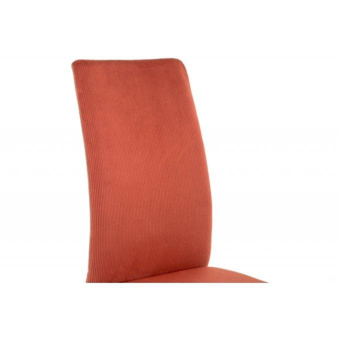 Обеденный стул Tod red / black красного цвета