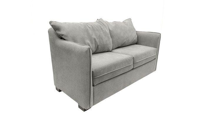 Прямой диван Arthur L серого цвета