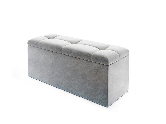 Банкетка Trento серого цвета