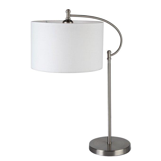 Настольная лампа Arte Lamp Adige с белым абажуром