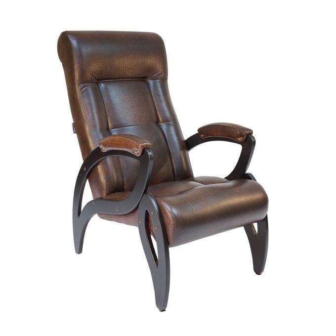 Кресло для отдыха Весна Модель 51 с обивкой Antik crocodile