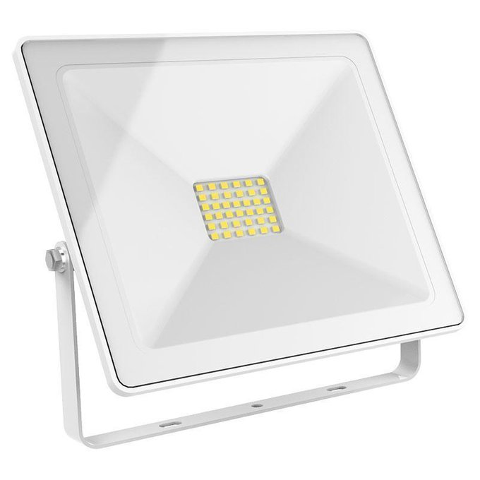 Прожектор светодиодный Slim белого цвета