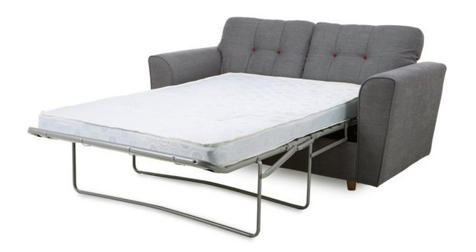 Двухместный раскладной диван Arden MTR  серый