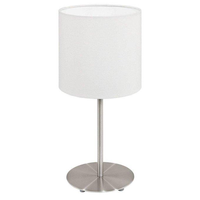 Настольная лампа Pasteri белого цвета