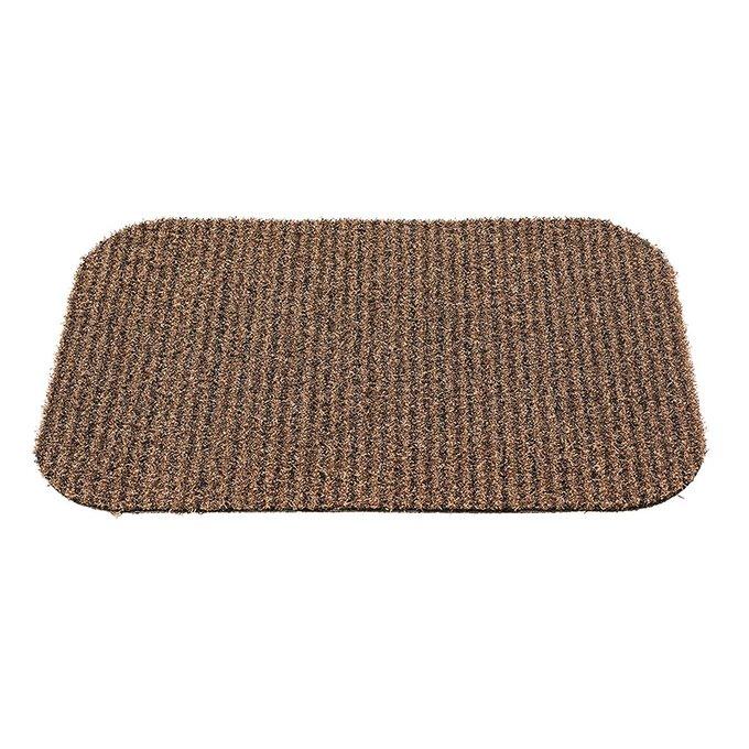 Коврик придверный Gardman linen stripe 65х45