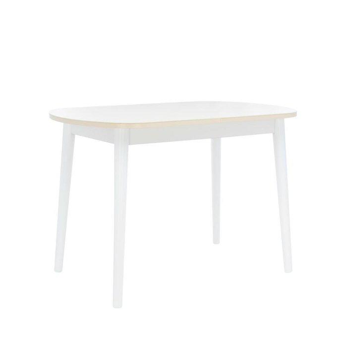 Стол раздвижной Акра 1Р кремового цвета