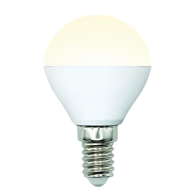 Лампа светодиодная Шар матовый белого цвета
