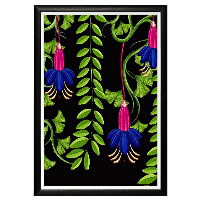 Картина Декоративная ценность в раме из багета