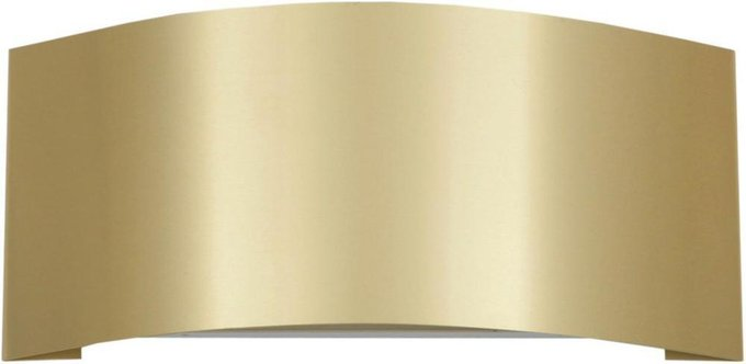 Настенный светильник Keal золотого цвета