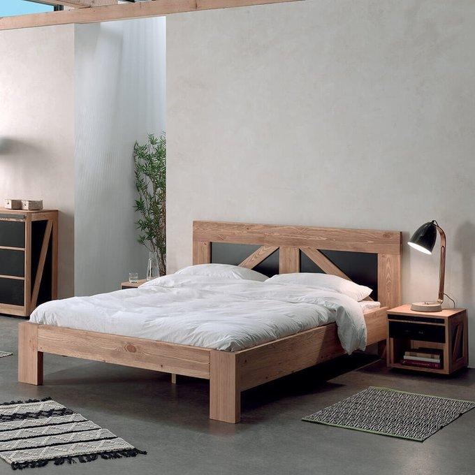 Кровать Yatelei в индустриальном стиле 160х200