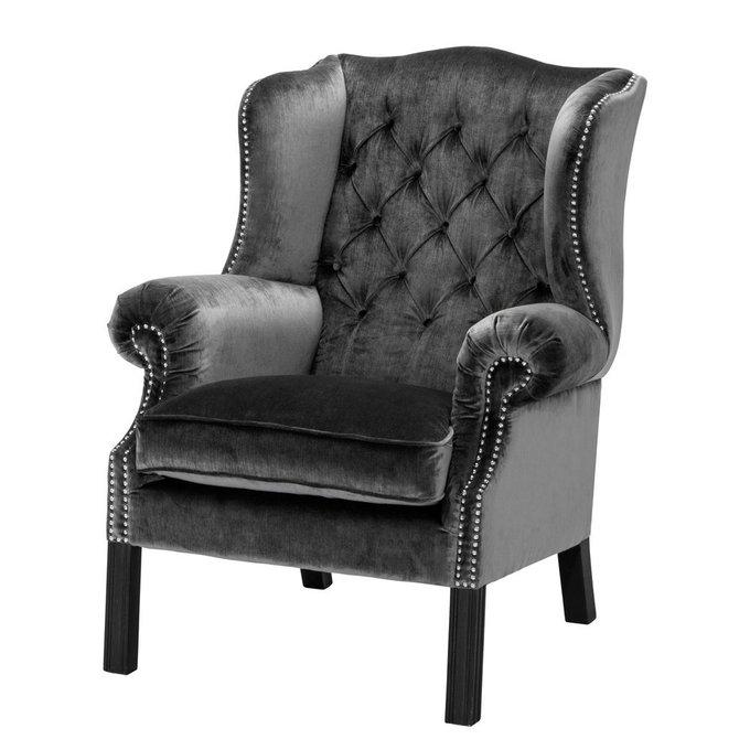 Кресло Bradley черного цвета