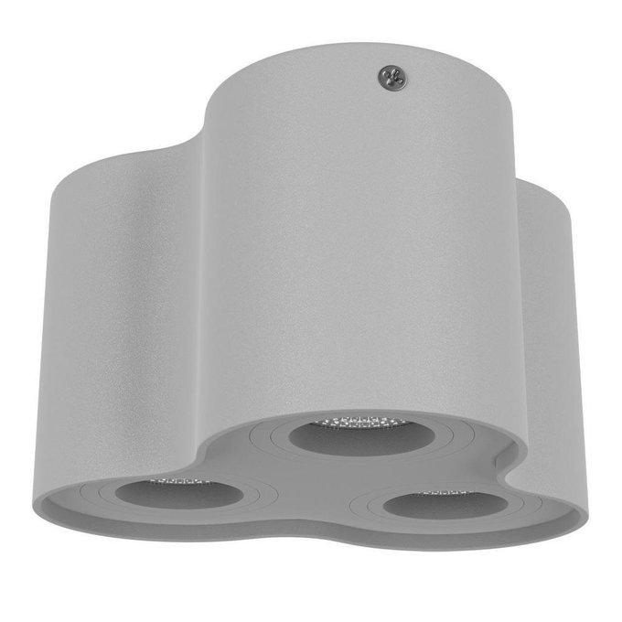 Потолочный светильник Binoco серого цвета