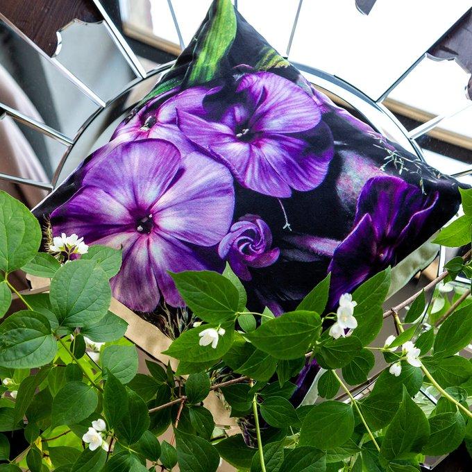 Декоративная подушка Ultra Violet с чехлом из полиэстера