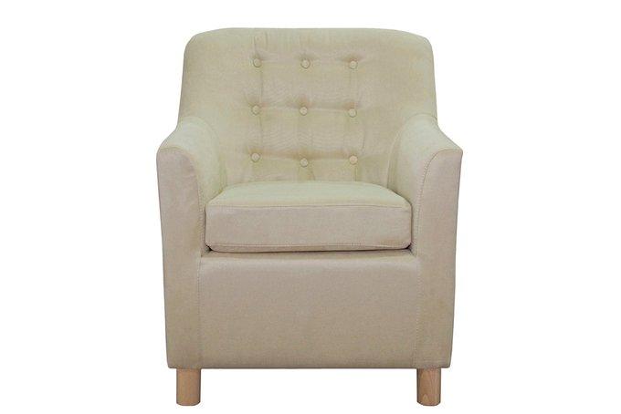 Кресло Damask молочного цвета